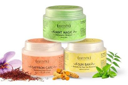 Sattvik Organics Anti Tan Facial Kit
