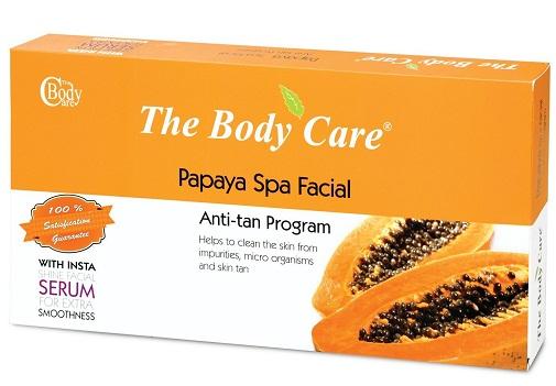 The Body Care Papaya spa Facial Anti Tan Facial Kit
