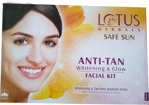 Lotus Anti Tan Facial Kit