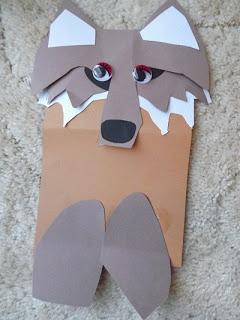 Paper Wolf Crafts