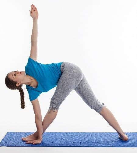 Triangle Pose to Cure Tinnitus