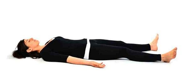 Sarvangasana Posture for Dark Circles