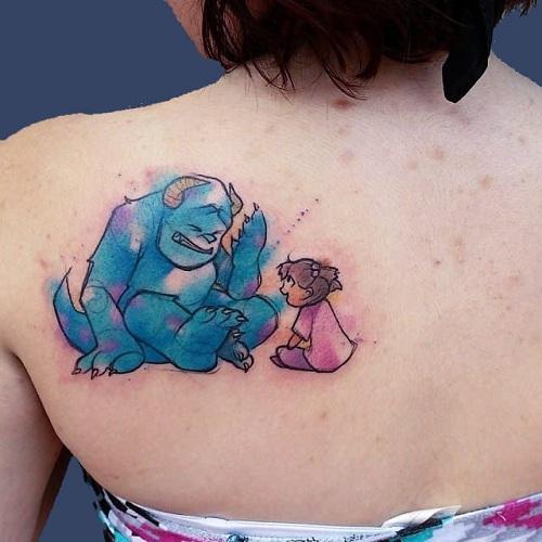 Monster Tattoo Design