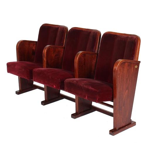 Luxury Velvet Theater Chair