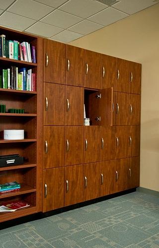 Wooden Office Lockers