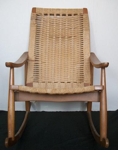 Jute Rocking Chair-6