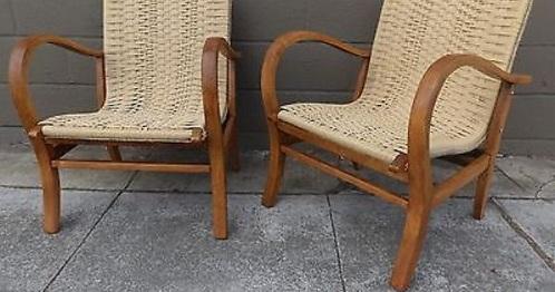 Jute Lounge Chairs