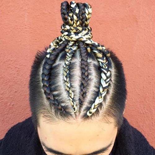 Man Bun Hairstyles9