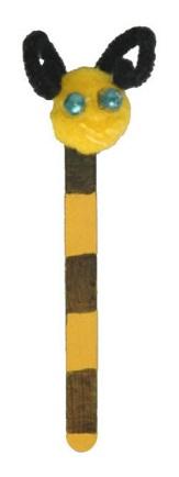 Bumblebee Bookmark Craft