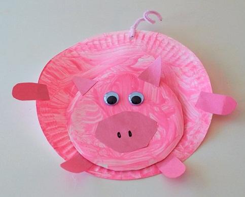 Cute Little Pig's Craft