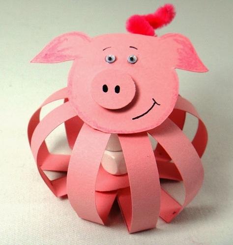 Paper Chart Pig Crafts