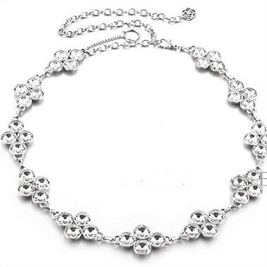 Diamond Nickel Waist chain Belt women