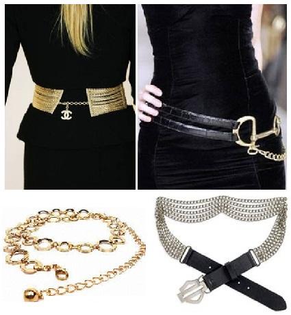 Funky belts for womens waist