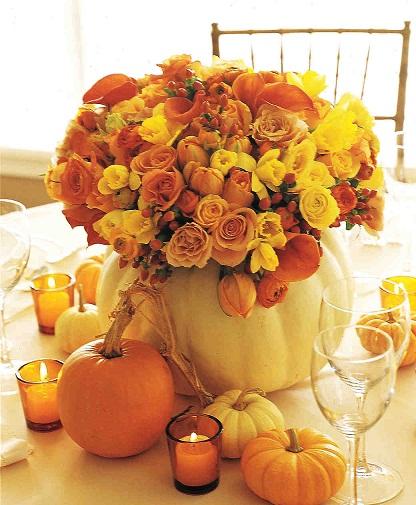 Wedding Falls Pumpkin Crafts