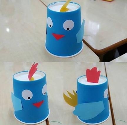 Paper Cup Snow Man