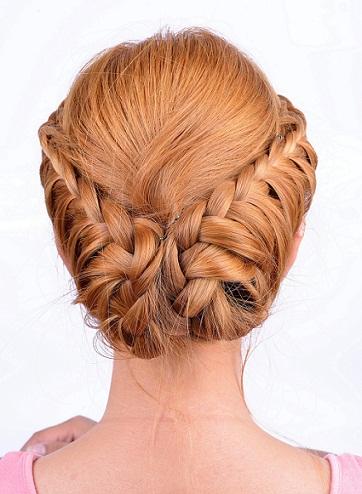 Chic Bun Hairstyles 6