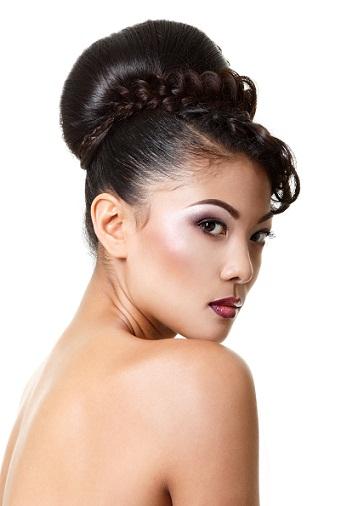 Chic Bun Hairstyles 8