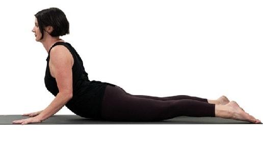 Cobra Pose For Kidney Stones