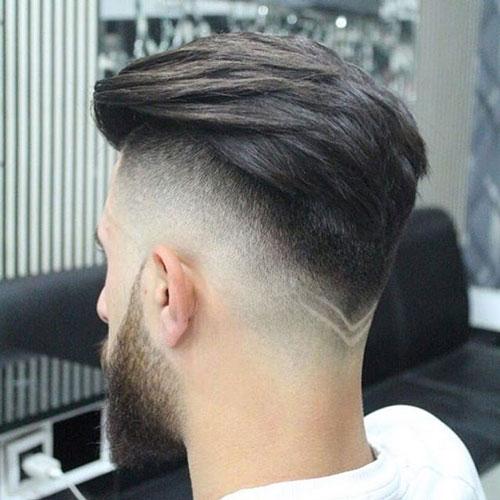 Fashionable V Shaped Haircut