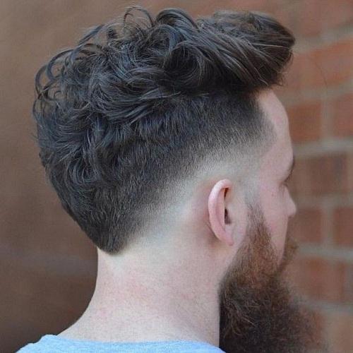 Simple V Shaped Haircut