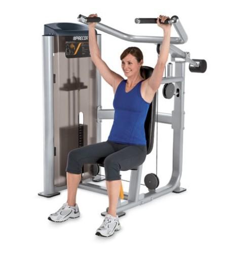 Exercises During Second Trimester-Shoulder press