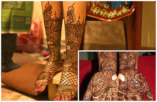 A. Shriniwasan Mehandi Designs