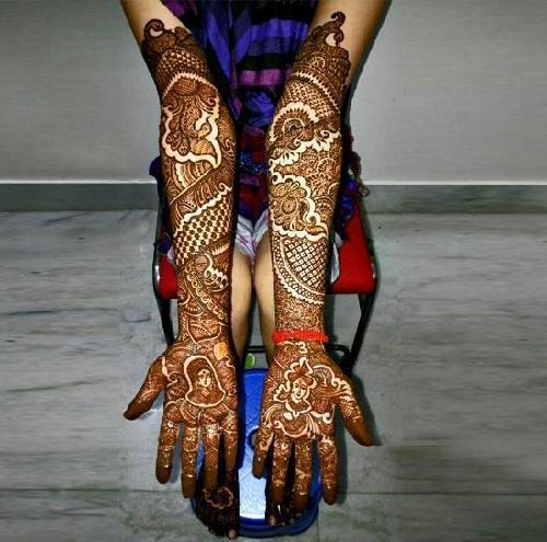 V K Bombay Mehndi Designs