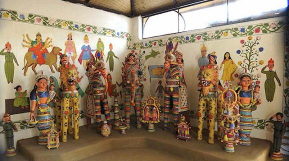 Famous Museums in Delhi-Sanskriti Kendra Terracotta and Metal Museum