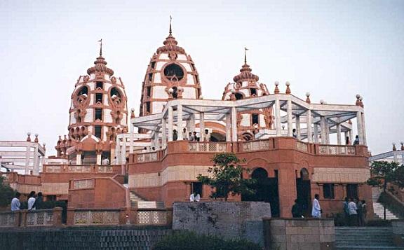 Famous Temples in Delhi-Iskcon Temple