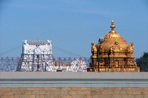 Sri Venkateswara Swamy Temple at Tirupati, Andhra Pradesh