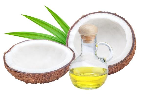 Treat Chapped lips - coconut oil