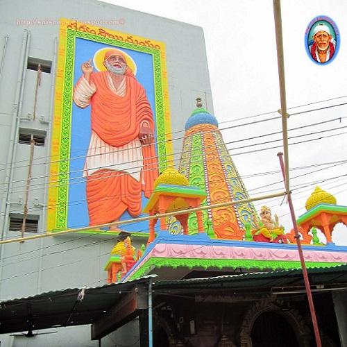 Sai Baba Temple In Madhura Nagar