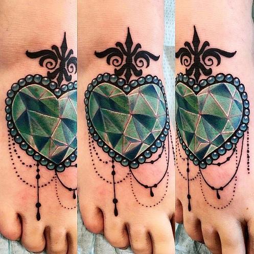 Emerald Jewel Tattoos