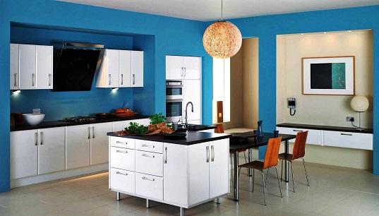 Cosy hall kitchen design