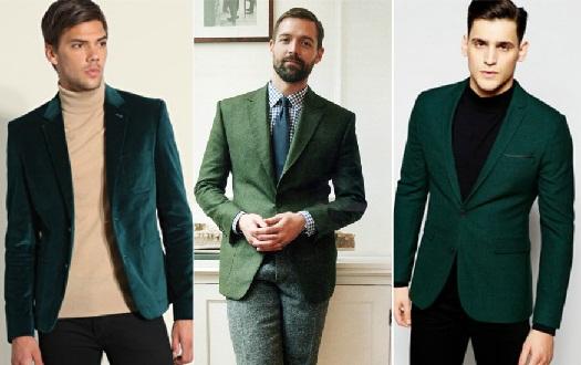 Green Blazers for Men