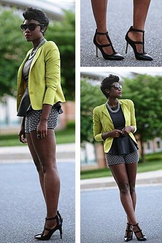 Lime Green Blazer
