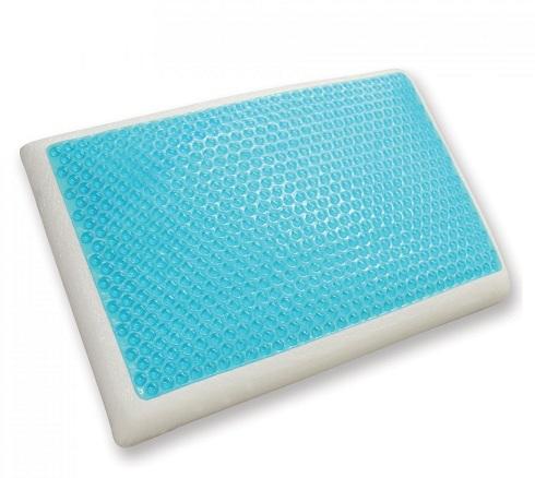Reversible Cool Gel and Memory Foam Pillow