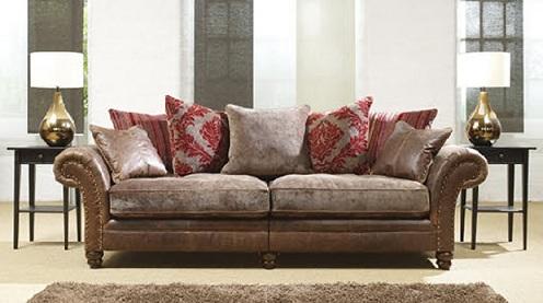 Leather Hall Sofa