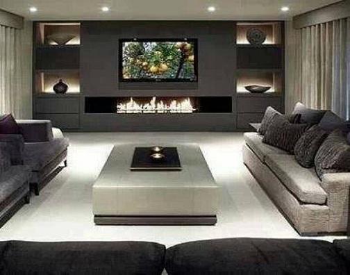 Contemporary Living Hall Design