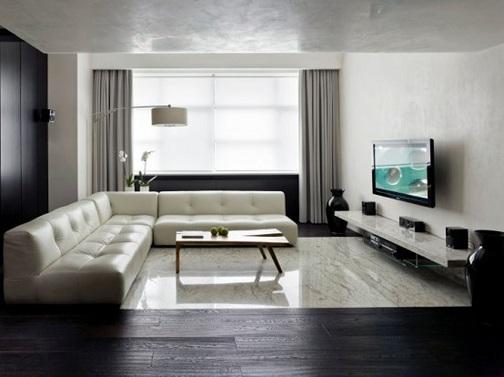 Minimalist Living Hall Design