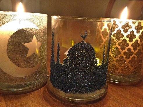 Ramadan Candle Craft