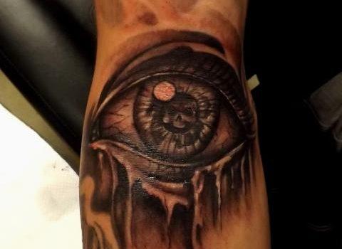 Sad Eyes Macabre Tattoos
