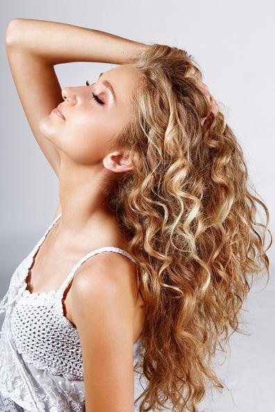 Permed hairstyles 4