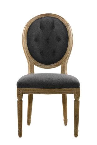 Round Button Chair