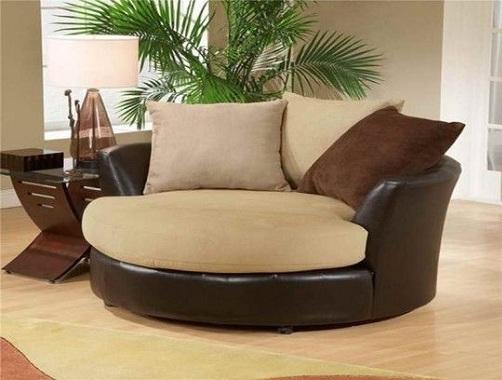 Round Barrel Chair