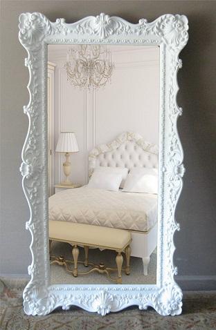 Huge White Mirror