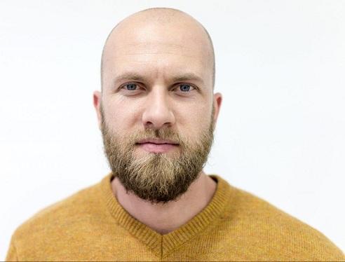 Shaved Head and Beard