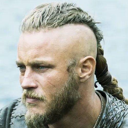 Braided Part Viking Hairstyle
