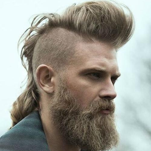 Mohawk Viking Hairstyle