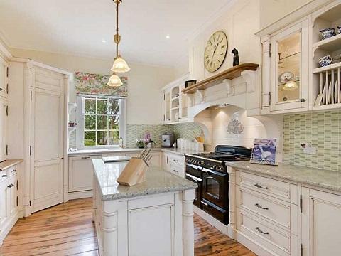 French Designed U Shaped Kitchen
